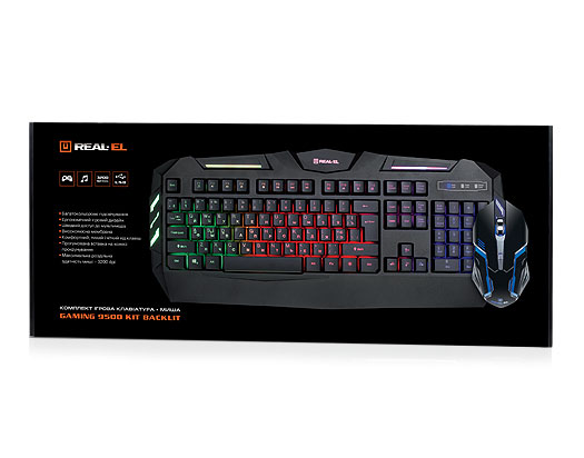 Gaming 9500 Kit Backlit